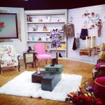 Visitando el set de Fashion Lab