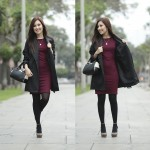 Burgundy Looks en Niobe