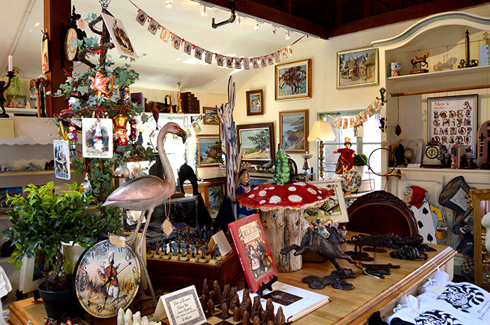alice in wonderland store