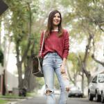 Flare Jeans + Chompita