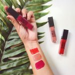 Los wet lips y los vivid matte liquid