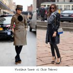 Fashion Weeks Street Style: Miroslava VS Olivia