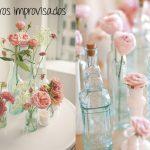 8 Floreros reciclados