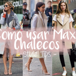 3 formas de llevar un Maxi Vest